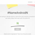 Google po vás žádá návrhy na název pro Android N!