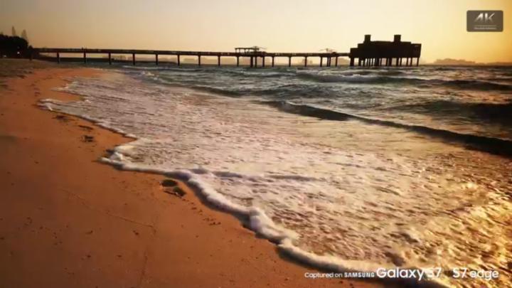 Galaxy S7 video
