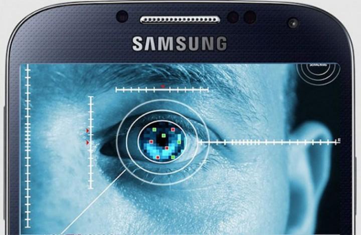 Samsung Galaxy Note Iris Scaner