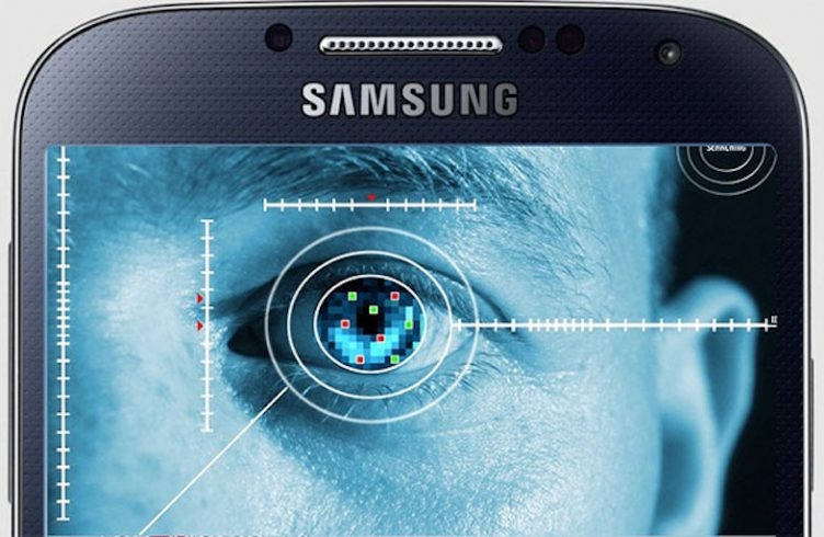 Samsung Galaxy Note Iris Scaner