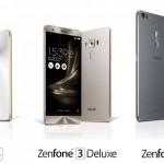 Asus představil 3 nové modely Zenfone 3