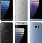 Samsung Galaxy Note 7 v prvních barevných renderech!