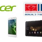 IFA 2016|Acer představil tablet umožňující telefonování a dva nové smartphony