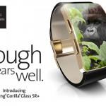 Corning představuje nové Gorilla glass SR+, odolné sklo pro SmartWatch!