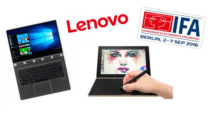 IFA 2016 Lenovo konvertibl