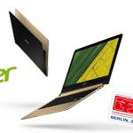 IFA 2016|Acer představil světově nejtenčí notebook Swift 7 s výbornými specifikacemi