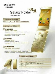 Uniklý plakát Samsungu Galaxy Folder 2