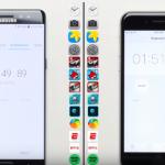 Samsung Galaxy Note 7 ponížen iPhonem 6S v testu rychlosti!