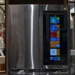 LG ukázalo ledničku s Windows 10 a obrovským displejem