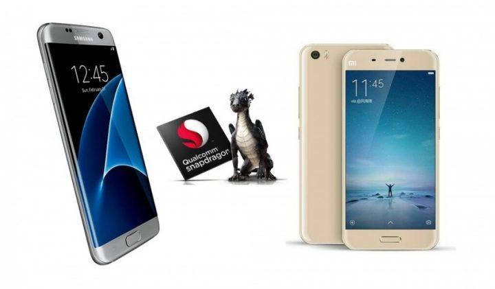 xiaomi Mi 6 samsung Galaxy S8 snapdragon 835