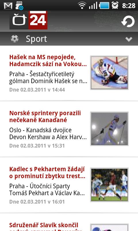 ct24 sport