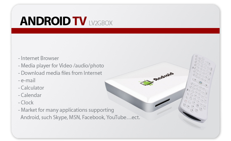 Android TV LifeView lv2gbox