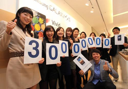 Samsung 30 milionů prodaných kusu Galaxy S a S II