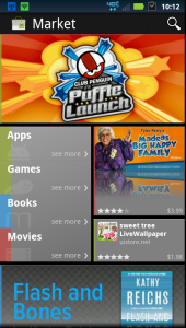 Android market verze 3.2