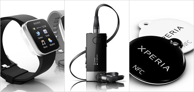 Sony příslušenství - SmartWatch, Smart Wireless Headset pro a Xperia SmartTags