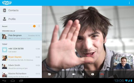 Skype pro tablety
