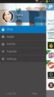 Aplikace PayPal