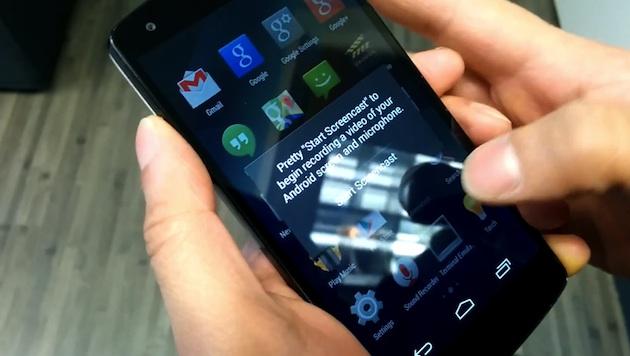 CyanogenMod Screencast
