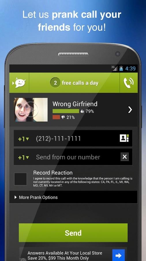 Best Prank Call App