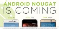 HTC potvrzuje Android 7.0 Nougat pro HTC 10, HTC One M9 a One A9!